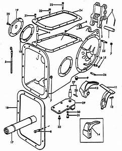 Center Housing Parts For Ford 8n Tractors  1947