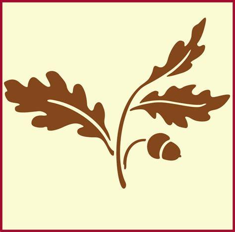 oak leaf  acorn  stencil  artful stencil ebay