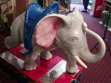 Dumbo Ride: Coin Operated, Kiddie Ride, Restored, Original