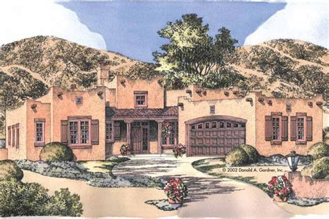 adobe style home southwest perfection hwbdo12509 adobe from