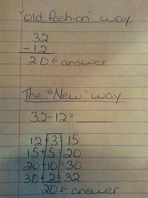 About That 'common Core' Math Problem Making The Rounds On Facebook…  Friendly Atheist