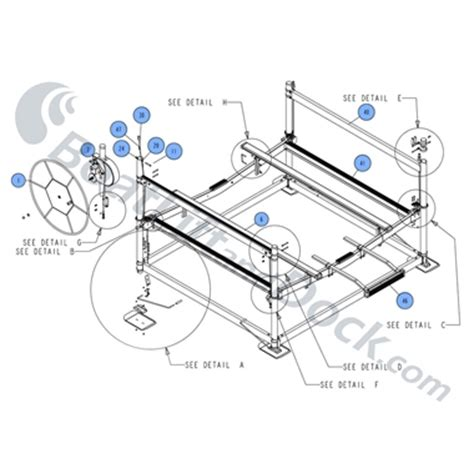 Vertical Boat Lift Cable Routing by Shorestation Boat Lift Repair Parts