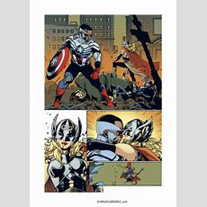 Allnew Alldifferent Avengers Writer On That Kiss & What To Expect With Standoff! & Civil War