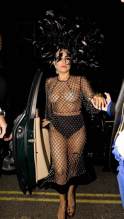 Gaga Lady London Cleavage June Mtv Looks