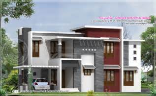 contemporary home design 2540 square contemporary house design home kerala plans