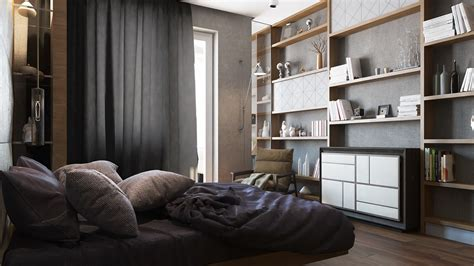 single bedroom apartment designs   square meters
