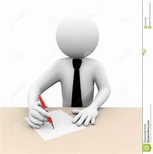 Business Writing Clipart - ClipartXtras