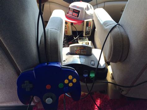 This Lyft Driver Puts Retro Gaming In Your Hands During