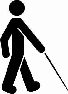 시각 장애인된 기호 클립 아트-벡터 클립 아트-무료 벡터 무료 다운로드
