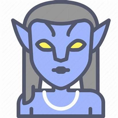 Avatar Superhero Neytiri Icon Editor Open