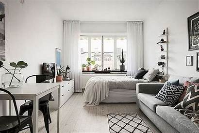 Minimalist Apartment Studio Decor Spaces Decorating Apartments
