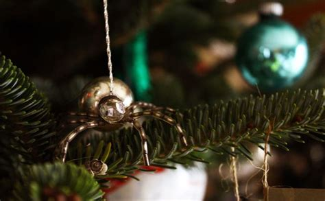 The Story Behind Spider Christmas Ornaments