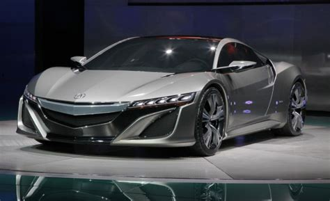 2012 acura nsx concept the awesomer