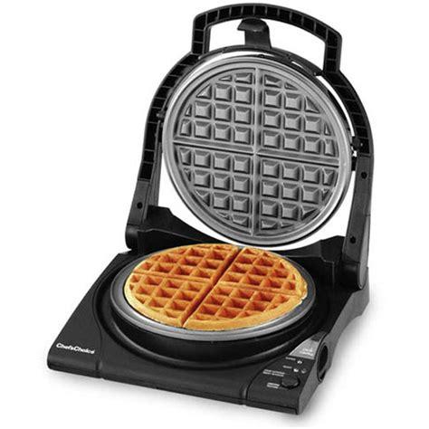 chefs choice model  classic express belgian waffle maker cutlery