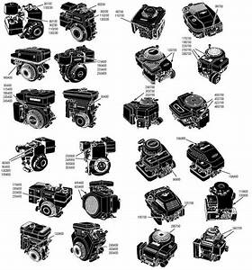 Where Is My Briggs  U0026 Stratton Model   On The Engine