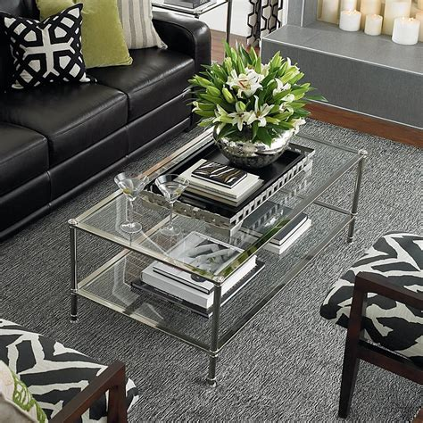 Its size also makes it one of the major focal points in the room. Missing Product   Table decor living room, Decorating ...