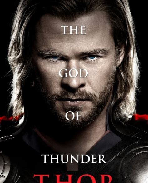 The Blot Says Thor Character Movie Poster Set 1
