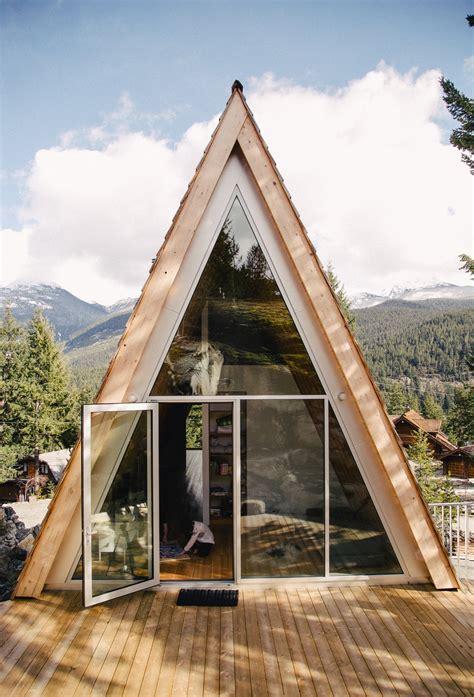 Modern a Frame Cabin Plans