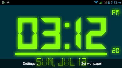 Digital Lock Wallpaper by Digital Live Clock Wallpaper Gallery