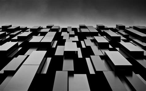 Abstract Architecture Wallpaper Hd by Abstract Black Blocks Shapes Monochrome Modern 2560x1600