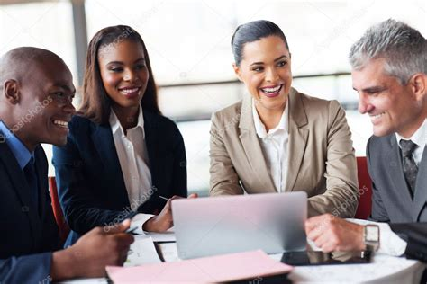 business people   meeting  office stock photo