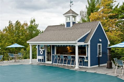 subway tile in kitchen pool house bar patio traditional with trees arched pergolas