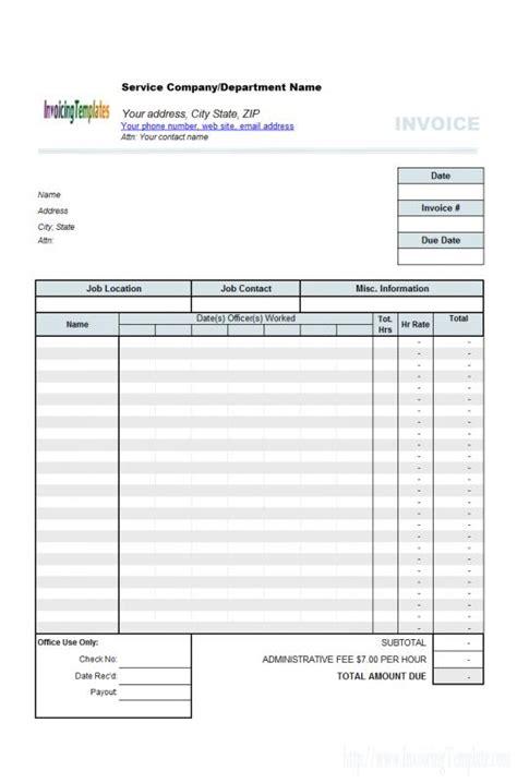 auto repair receipt template business