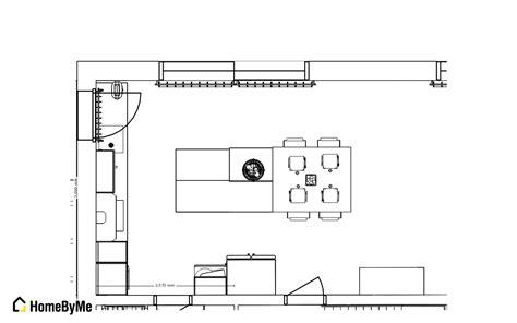 dimension cuisine dimension ilot central cuisine maison design bahbe com