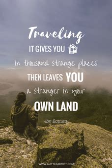 pretty    list  unconventional travel quotes
