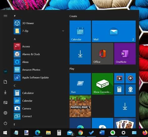 Show All Programs By Default In Start Menu Of Windows 10