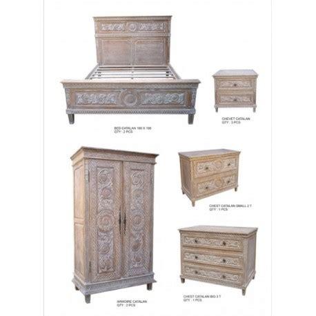 chambre ceruse ensemble mobilier pour chambre tout en bois