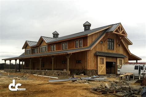 Barn Customs by Barn Home This 72 Custom Barn Home Is A True