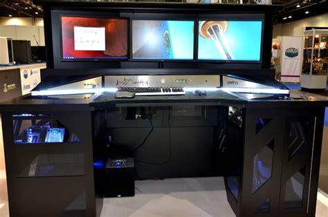 gaming computer desk  woodworking