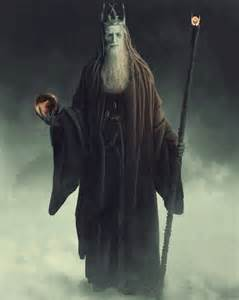 Lord of the Rings Gandalf the White Wizard