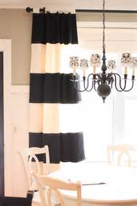 dazzling navy and white striped curtains decoration ideas for bedroom rustic