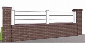 Cloture En Pvc : barriere pvc pour muret ~ Premium-room.com Idées de Décoration