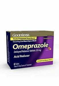 Goodsense Omeprazole Delayed Release Acid Reducer Tablets 20 Mg For Sale Online