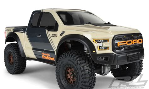 pro     ford   clear body   crawlers