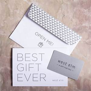 West Elm Gift Card West Elm