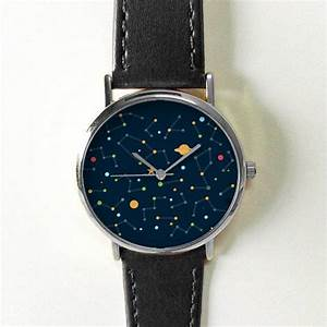 Galaxy Space Watch Constellation Planets Stars Watches for Men