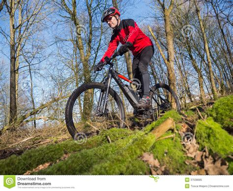 state   art electric powered mountain bike editorial image image  riding ebike
