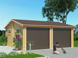 Garage Bois 40m2 : garage en bois 600x600 44mm 36m ~ Melissatoandfro.com Idées de Décoration