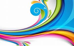 Multicolored, Wave, Wallpaper, Vector, Art, Wavy, Lines, Colorful, Hd, Wallpaper