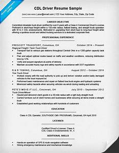 cdl driver resume sample writing tips resume companion With cdl driver resume samples