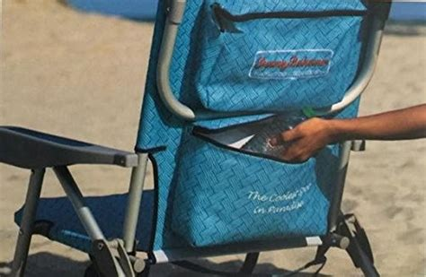 2 tommy bahama backpack beach chairs light blue 1