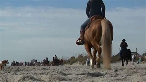beach myrtle wpde riding horseback horses allowed beaches event file