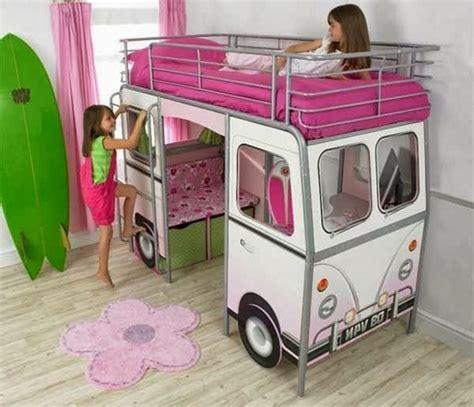 chambre de grande fille un lit mezzanine pour enfant des idées en photos