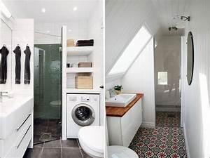 Comment optimiser une petite salle de bain frizbiz for Optimiser une petite salle de bain