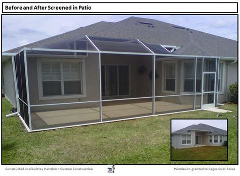 Screened Patio Designs by Mybleuberrynights Screened Patio Enclosure Designs