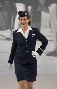 Air Canada Flight Attendant Uniform